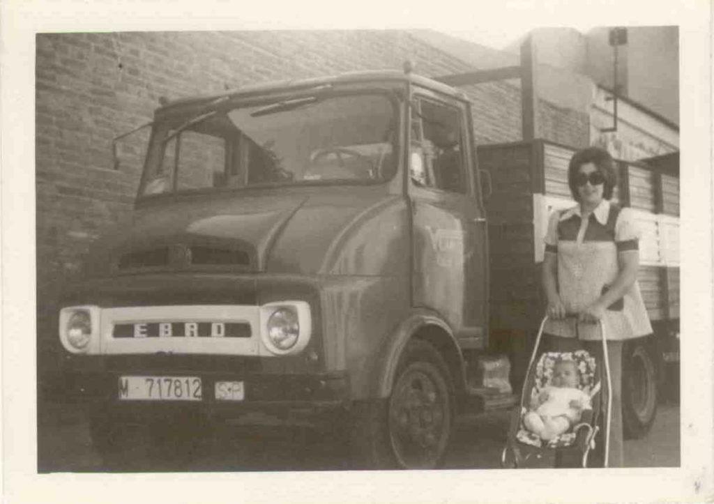 Camión antiguo Ebro perteneciente a nuestra historia