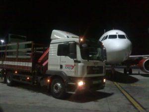 Trabajo en Aeropuerto Adolfo Suárez T4 nocturna