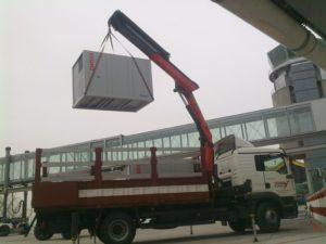 Trabajo en Aeropuerto Adolfo Suárez T4 - Aire acondicionado