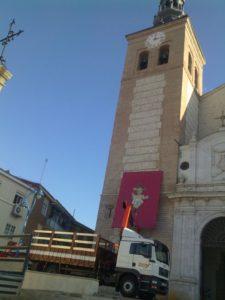 Trabajos en Catedral de Getafe