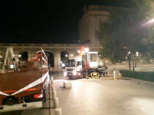 Quiosco turismo Recoletos - Palacio Real